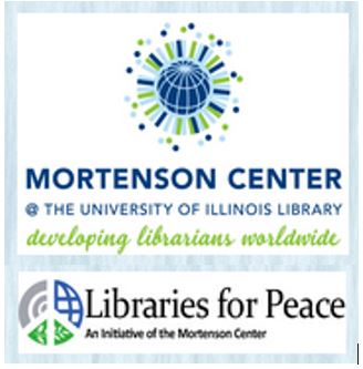Mortenson Center and Libraries for Peace logo